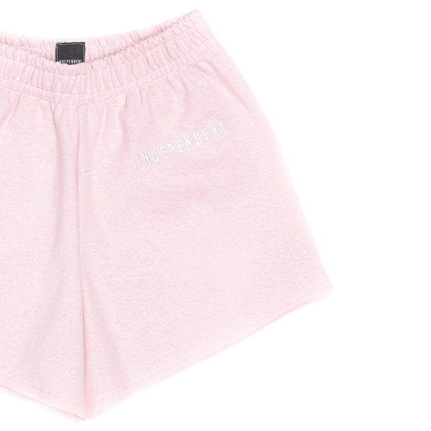 Short donna soft rose ricamo - Independent_wear
