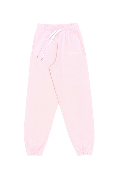 Pantalone tuta lungo soft rose ricamo - Independent_wear