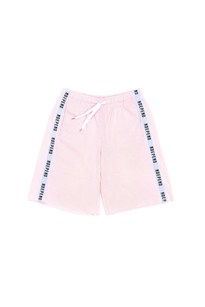 Pantalone tuta corto soft rose banda - Independent_wear