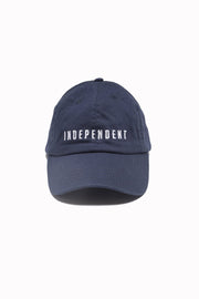 Cappellino blu - Independent_wear