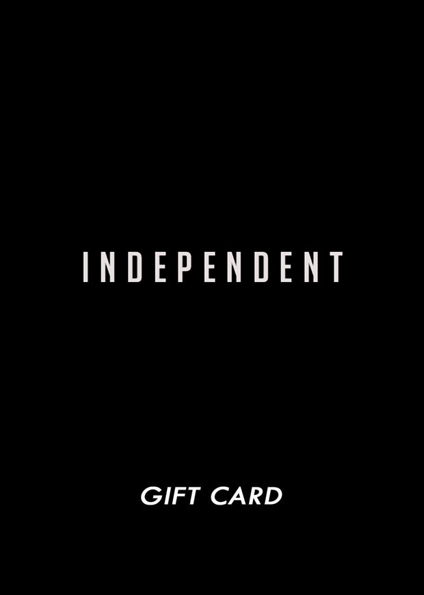 Gift card 25€ - Independent_wear