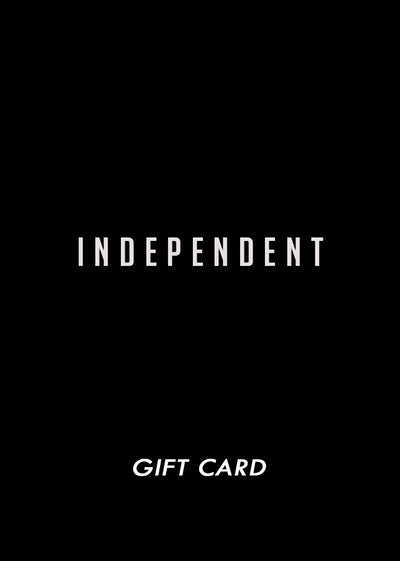 Gift card 50€ - Independent_wear