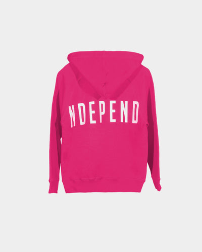 Felpa cappuccio fucsia - Independent_wear