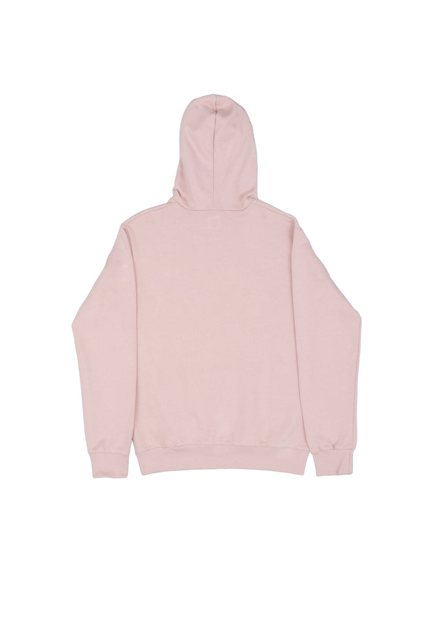 Felpa cappuccio soft rose ricamo - Independent_wear