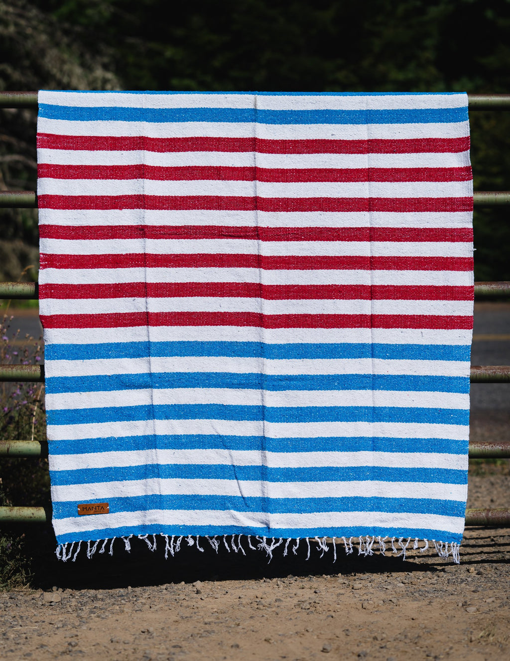 Shacks Stripe Blanket - Mantacompany.com