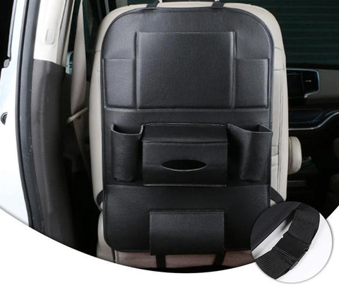 Leather Car Back Seat Organizer - easeable.com