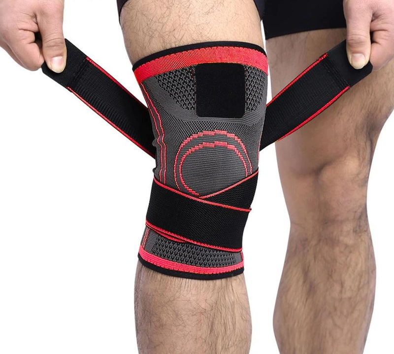 Best Knee Brace for Men & Women - Adjustable Knee Compression Sleeve