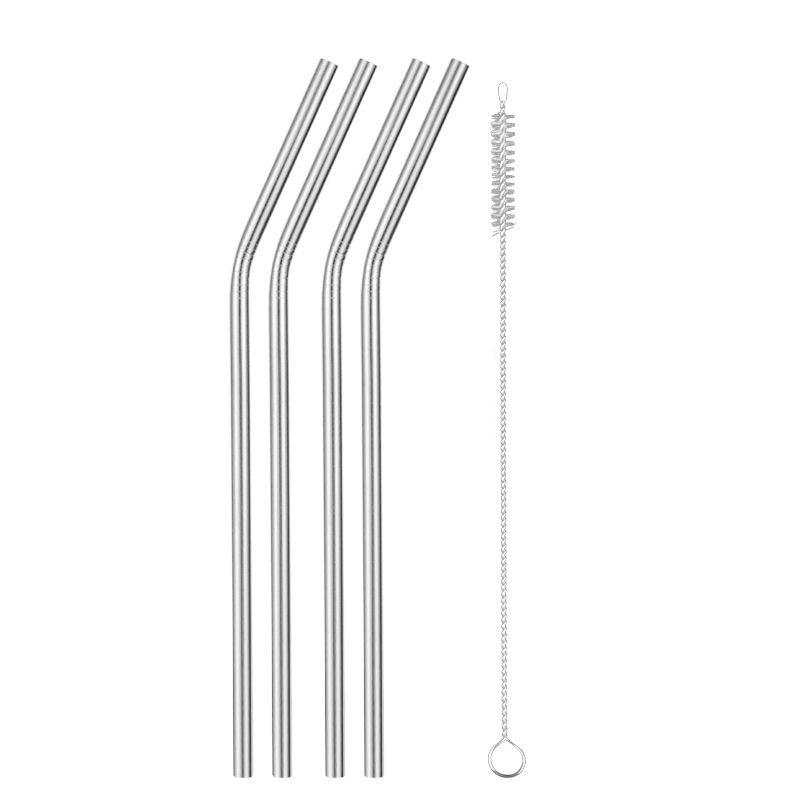 Reusable Stainless Steel Drinking Straws - easeable.com