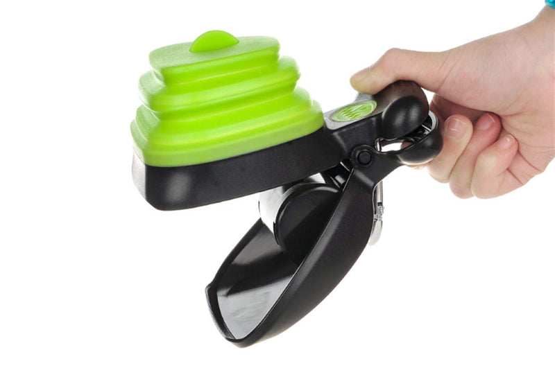 Portable Pooper Scooper, Foldable Poop Scoop, Reusable Dog Poop Bags - easeable.com