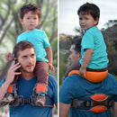 Baby Shoulder Carrier with Ankle Straps, Hands-Free Baby Carrier - easeable.com