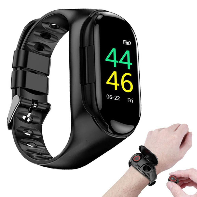 Sport Smart Watch & Wireless Bluetooth Headphones Heart Rate Monitor - easeable.com