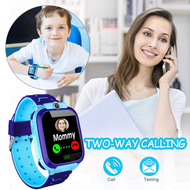 Kids Smart Watch GPS Location Tracker Smartwatch for Children - easeable.com