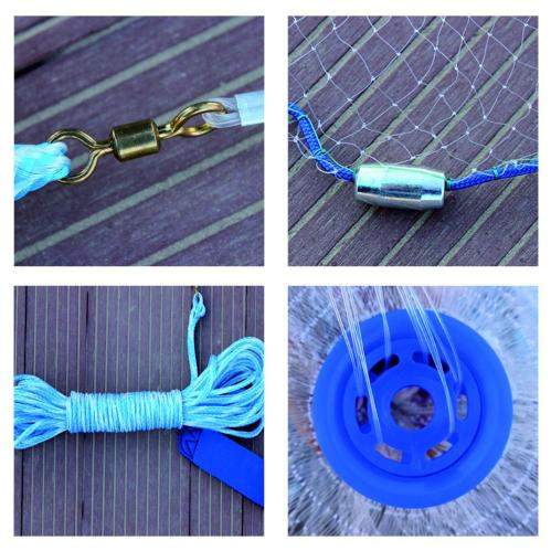 Magic Fishing Net Bait Trap Sinker