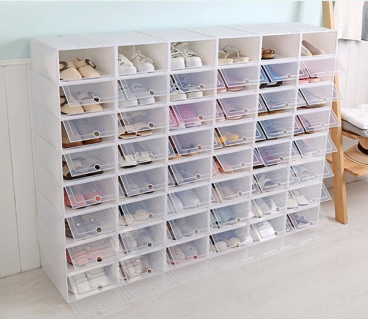 Shoe Organizer & Clear Storage Drawers - easeable.com