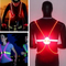 Lighted Safety Vest | Flashing High Visibility Vest for Running & Cycling - easeable.com