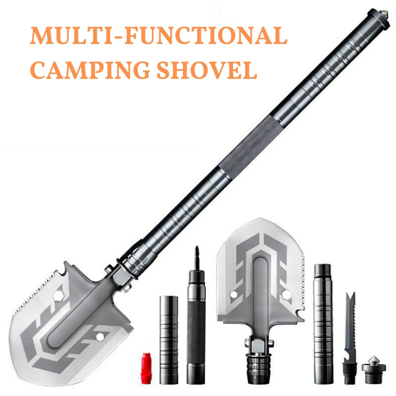 Tactical Folding Survival Shovel - easeable.com