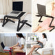 Adjustable Folding Laptop Table - easeable.com