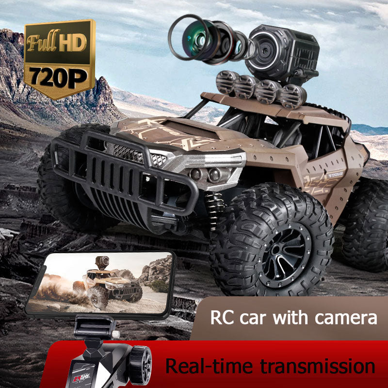 25KM/H Electric High Speed Remote Control Car with WiFi 720P Camera - easeable.com