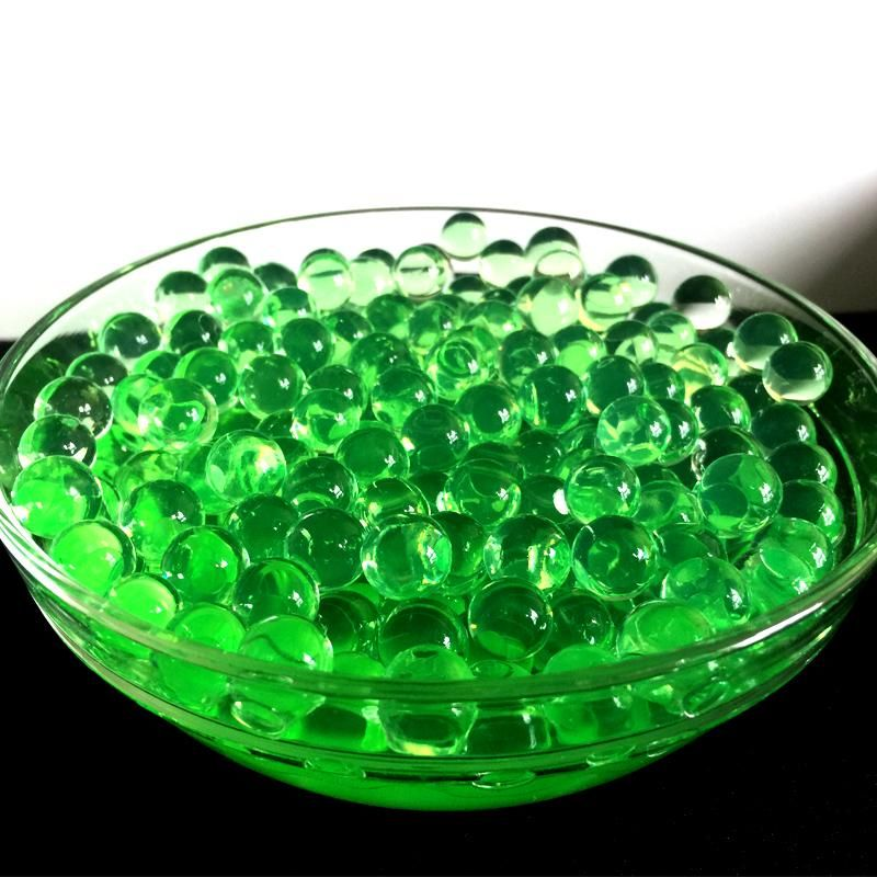 Green Hydrogel Polymer Water Beads Crystal Soil 10000pcs