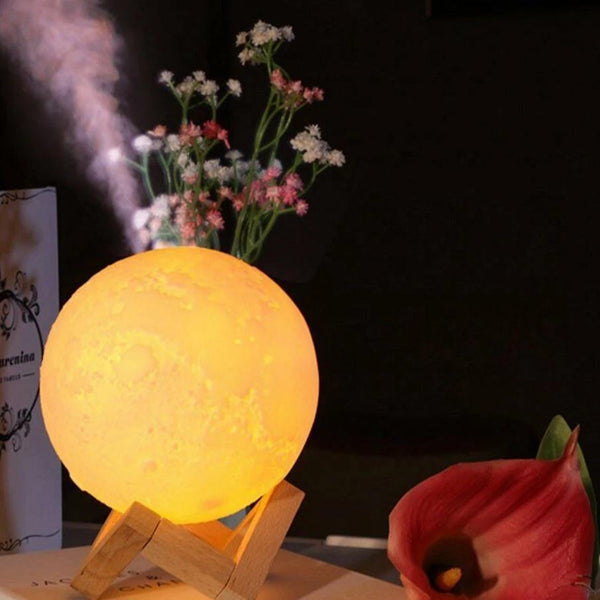 Full Moon Lamp and Humidifier (2-in-1) - easeable.com