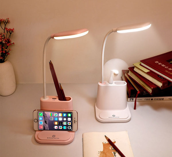 Cordless LED Desk Lamp with USB Port - easeable.com