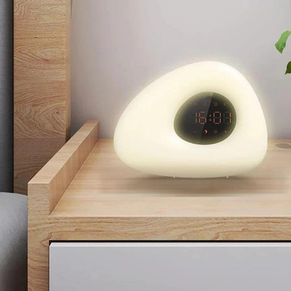 Wake-Up Light Digital Alarm Clock with Sunrise Simulation - easeable.com