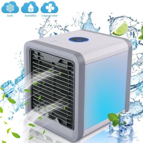 USB Powered LED Portable Air Conditioner & Humidifier Cooling Fan