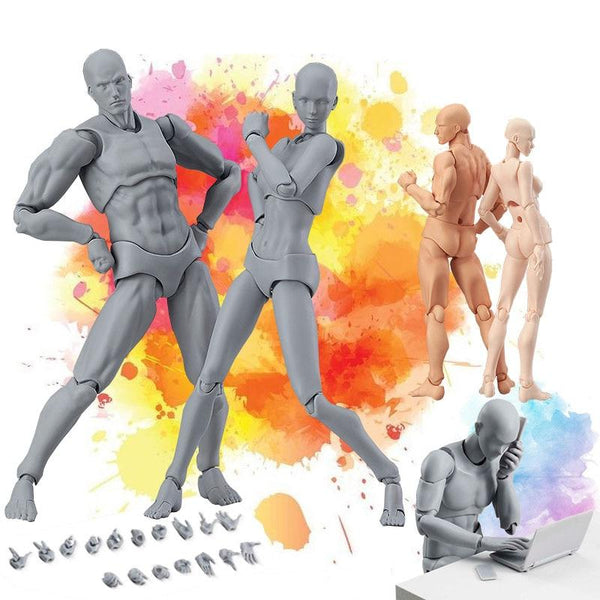Drawing Model Figurines for Artists Body Figure - easeable.com