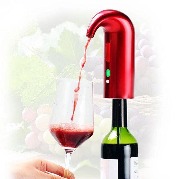 Portable Smart Wine Aerator Automatic Wine Pourer - easeable.com