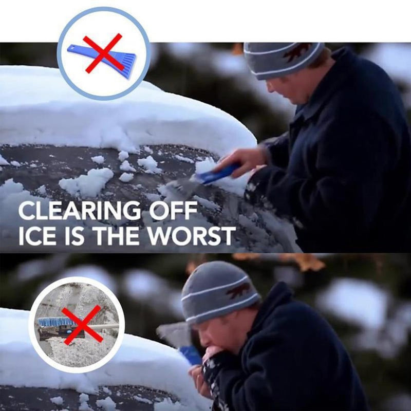Car Windshield Cone-Shaped Ice Scraper Tool - easeable.com