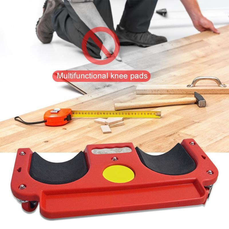 Rolling Knee Creeper Protection Pads with Tool Tray - easeable.com