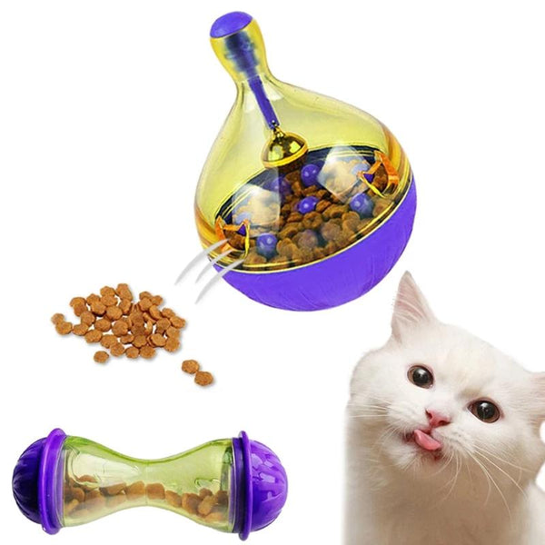 Smart Cat Food Feeder Ball Interactive Toy - easeable.com