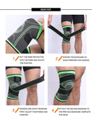 Elbow & Knee Brace Adjustable Knee Compression Sleeve - easeable.com