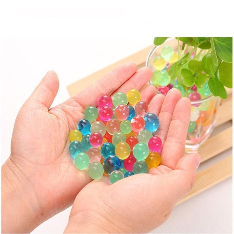 Multi Color Hydrogel Polymer Water Beads Crystal Soil 10000pcs