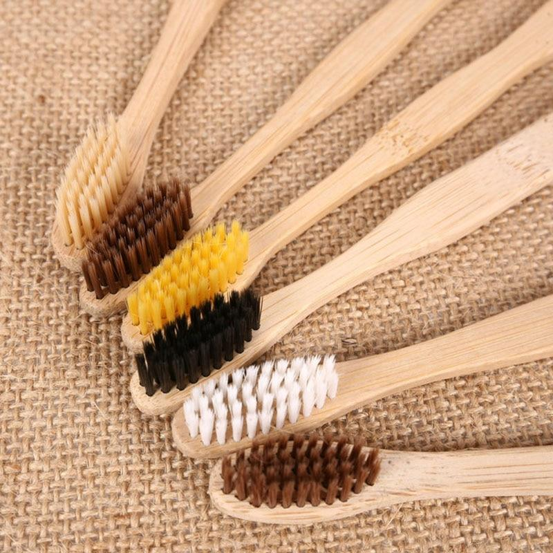 Bamboo Toothbrush Organic Charcoal Toothbrush - easeable.com