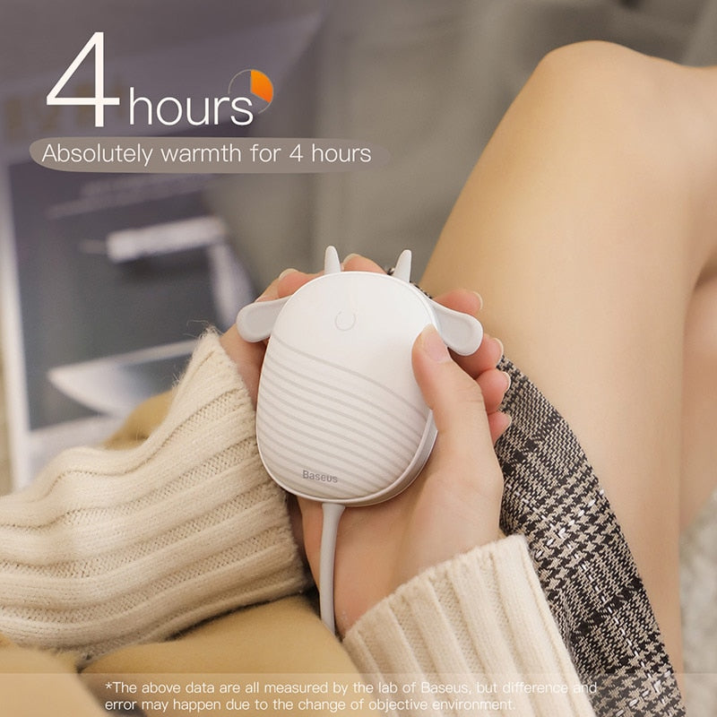 Rechargeable Hand Warmer Pocket Heating Pad - easeable.com