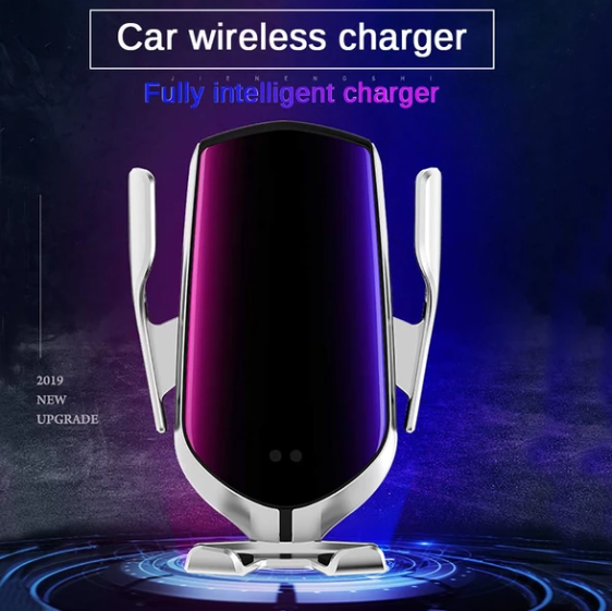 Wireless Car Phone Charger & Automatic Clamping Mount - easeable.com