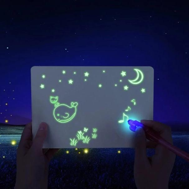 Magic Light Drawing Pad | LED Drawing Board for Children - easeable.com