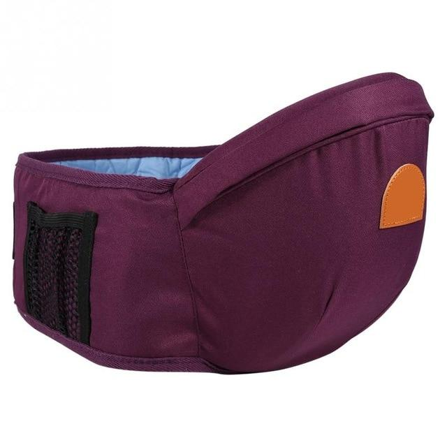 Adjustable Baby Carrier Hip Seat Purple