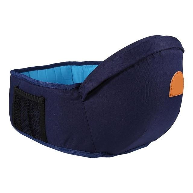 Adjustable Baby Carrier Hip Seat Dark Blue