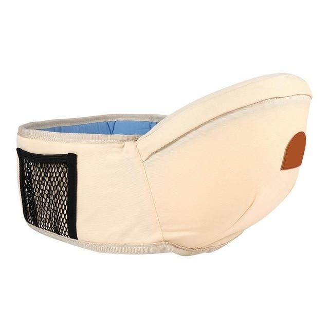 Adjustable Baby Carrier Hip Seat Cream