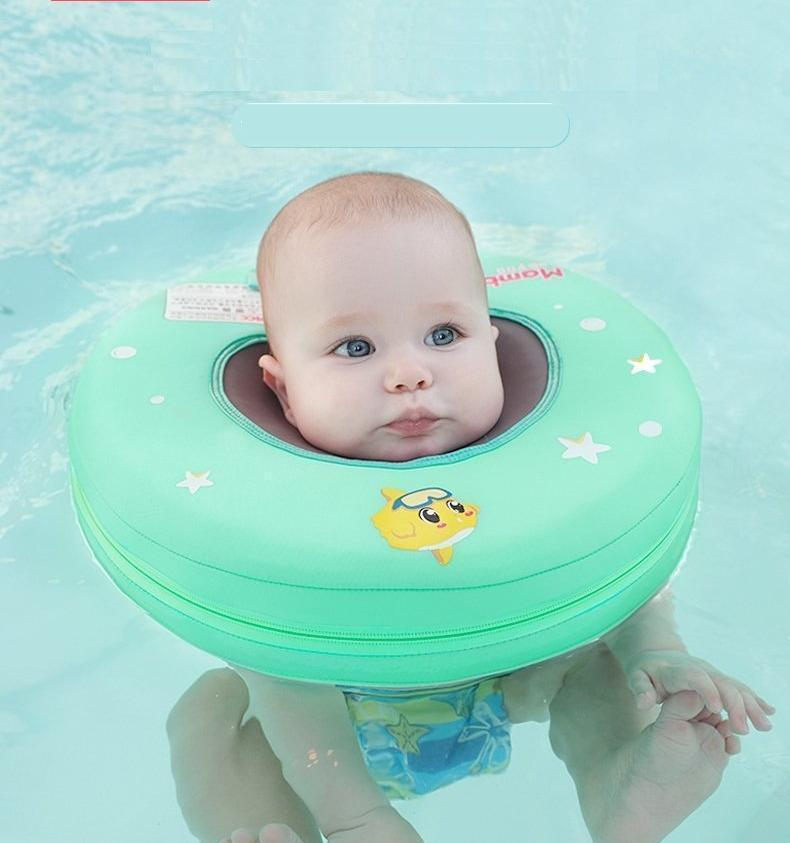 Safety Baby Float Swimming Neck Float Air-Free Swim Trainer - easeable.com