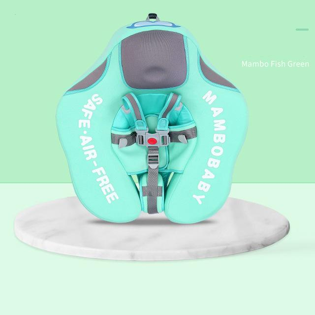 Green Safety Baby Neck Float Swim Trainer