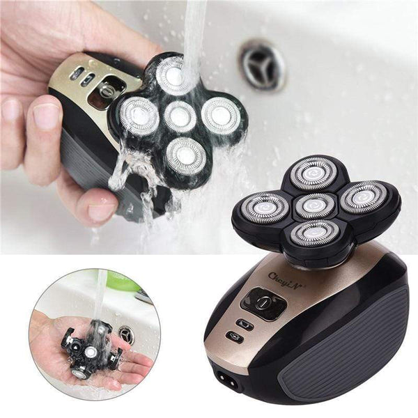 5 in 1 4D Electric Shaver for Bald Head - easeable.com