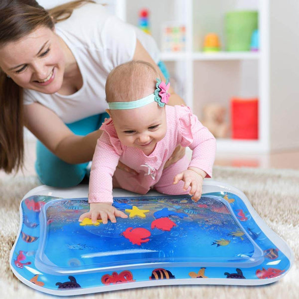 Baby Tummy Time Water Play Mat - easeable.com