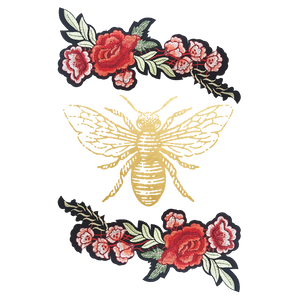 Bee flash tattoo