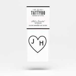 Wedding temporary tattoo