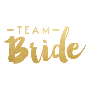 Team Bride Gold Flash tattoo
