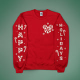 Peppermint Candy Holiday Sweater