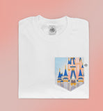 50th Most Magical View Pocket T-shirt